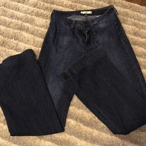 Dex Blue Flare Jeans
